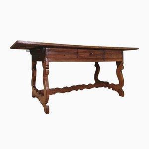 Tavolo da refettorio in noce, 1600