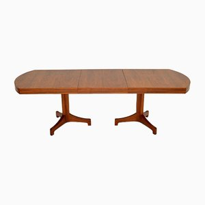 Vintage Extendable Walnut Dining Table by Robert Heritage for Archie Shine, 1960s