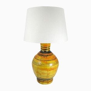 Large Mid-Century Ceramic Table Lamp by Zsuzsa Heller, 1970's