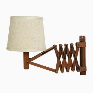 Lampada nr. 613 Mid-Century in legno di Temde, anni '60
