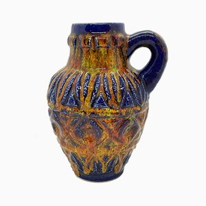 Lackierte Keramikvase von Bay Keramik, 1960er