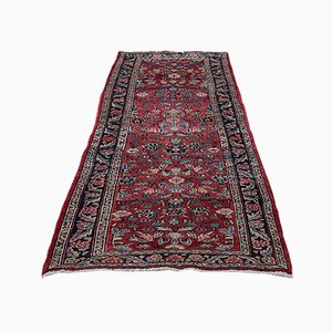 Long Vintage Middle Eastern Hamadan Runner Carpet, 1950s