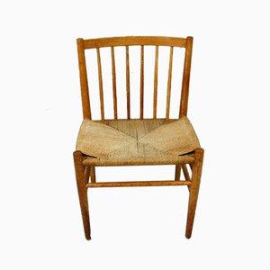 Danish Oak Dining Chair, 1960s