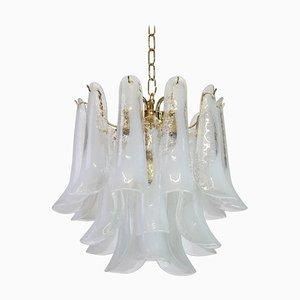 Murano Glas Kronleuchter von Carlo Nason für Mazzega, 1970er