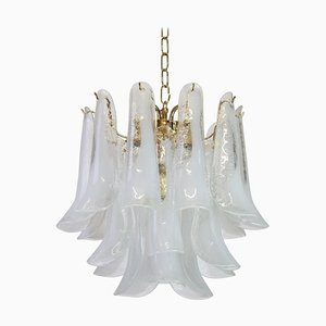 Murano Glass Chandelier by Carlo Nason for Mazzega, 1970s