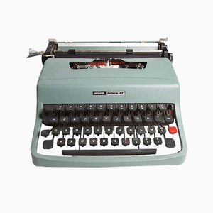 Lettera 32 Schreibmaschine von Olivetti, 1970er