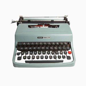 Macchina da scrivere Lettera 32 di Olivetti, anni '70