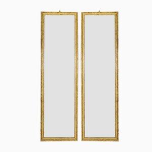 Specchi dorati, anni '20, set di 2