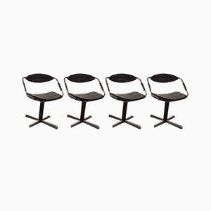 Chaises de Salon Modèle Unesco par Steiner Gilbert pour Steiner, 1962, Set de 4