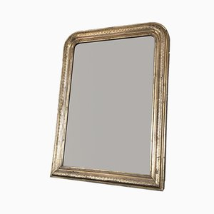 Antique Louis Philippe Giltwood Mirror, 19th Century