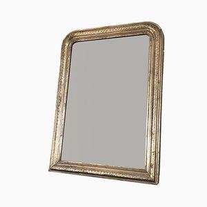 Antique Louis Philippe Giltwood Mirror, 19th Century