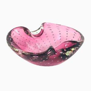 Bullicante Murano Glass Ashtray or Bowl, 1960s