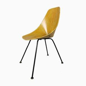 Medea Chair aus Eiche Schichtholz von Vittorio Nobili für Fratelli Tagliabue, 1950er