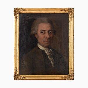 Schwedische Schule, 18. Jh. Portrait eines Herrn, Schwedisches Ölgemälde, 18. Jh