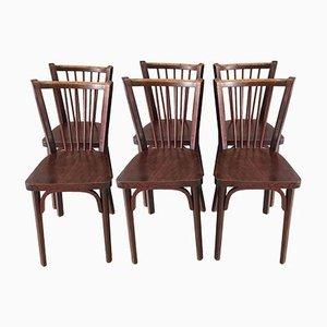 Esszimmerstühle von Baumann, 1960er, 6er Set