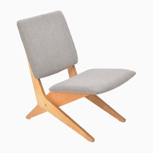 Vintage FB18 Scissor Chair by Jan van Grunsven for Pastoe, 1960s