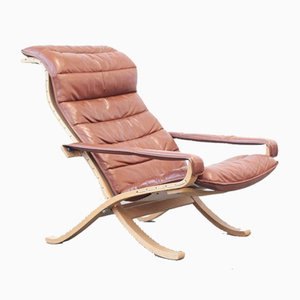 Vintage Lounge Chair by Ingmar Relling for Westnofa, 1960s