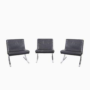 Sillas Berlin Chair de Meinhard von Gerkan para Walter Knoll / Wilhelm Knoll, años 70. Juego de 3
