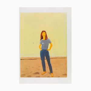 Alex Katz: Harbour 10, Aquatinta in Farben, 2006