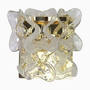 Large Austrian Murano Glass Sconce by Carlo Nason for Kalmar, 1960s
