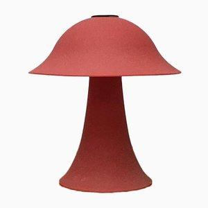 Vintage Mushroom Tischlampe aus Glas