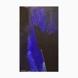 Hans Osswald, Moderne Komposition, Öl auf Leinwand