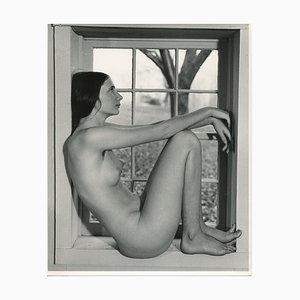 Martin Miller, Akt in Fenster, 1970er Silberne Gelatine