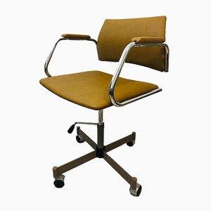 Mustard Office Chair from Kovona, 1970s