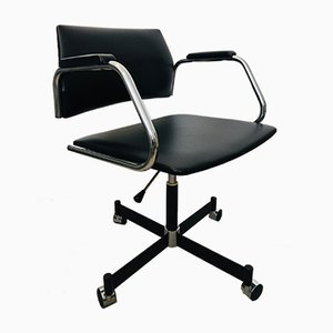 Black Office Chair from Kovona, 1970s