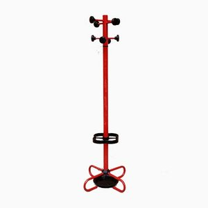 Red Italian Sputnik Coat / Umbrella Stand