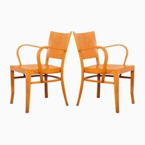 Buchenholz Stühle, 2er Set