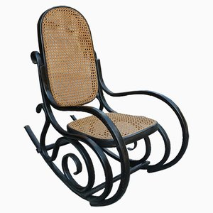 Bentwood Italian Children's Rocking Chair from Salvatore Leone, 1910s
