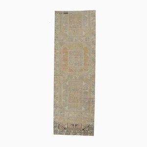 Antiker Türkischer Läufer von Oushak Teppich