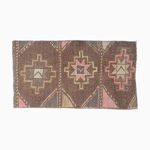 Vintage Turkish Oushak Carpet