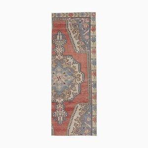 Türkischer Vintage Läufer Teppich