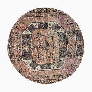 Türkischer Vintage Oushak Teppich