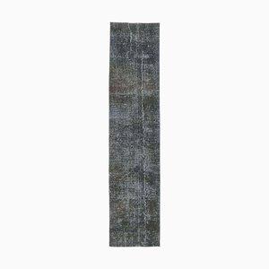 Vintage Bohemian Turkish Runner Carpet