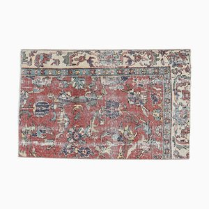 Antique Turkish Carpet Oushak Carpet