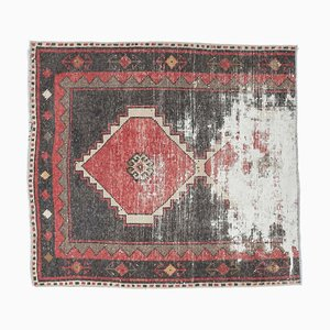 Vintage Turkish Oushak Carpet