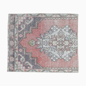 Türkischer Vintage Medaillon Teppich