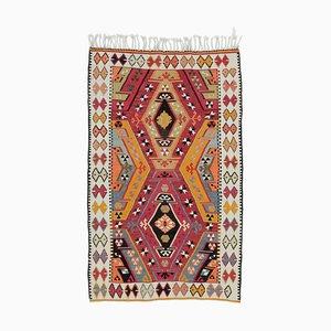 Vintage Turkish Kilim Carpet