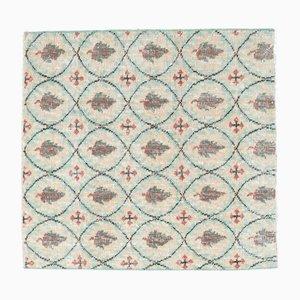 Quadratische türkische Vintage Fußmatte