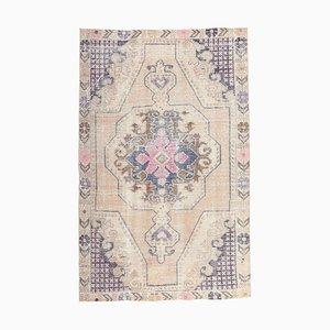 Vintage Turkish Handmade Wool Carpet