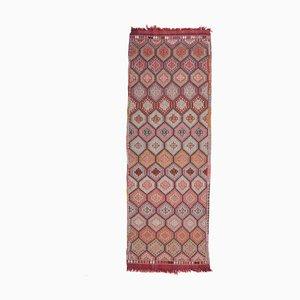 Vintage Turkish Handmade Wool Runner