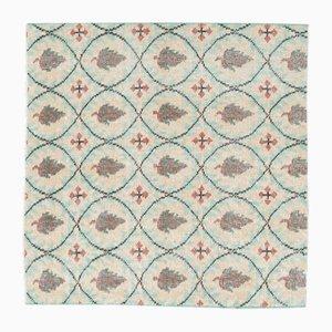 Square Vintage Turkish Doormat