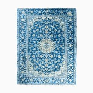 Scandinavian Vintage Handmade Wool Carpet
