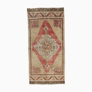 Handgemachter antiker türkischer Handgeknüpfter Wollteppich