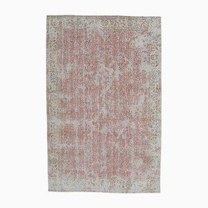 Red Middle Eastern Vintage Carpet