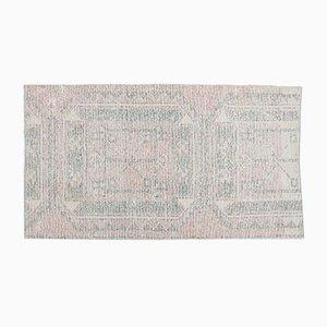 Vintage Turkish Carpet Handmade Wool Rug