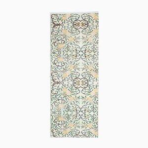 Handgeknüpfter türkischer Vintage Teppich in Beige